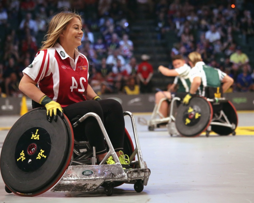 Wheelchair rugby